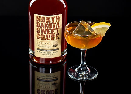 North Dakota Sweet Crude cocktail drink recipe, Crude Italian