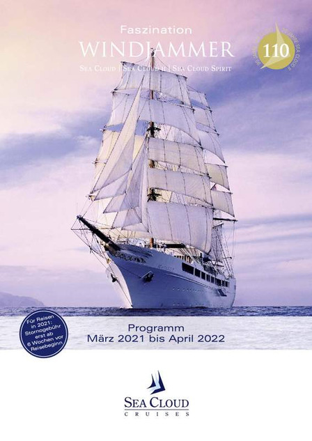 SEA CLOUD SPIRIT Katalog 2021/22