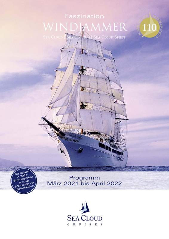SEA CLOUD II Katalog 2021/22