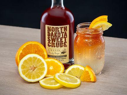 North Dakota Sweet Crude cocktail drink recipe, Dakota Sweet Lemonade