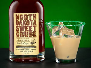 North Dakota Sweet Crude cocktail drink recipe, Crude Leprechaun