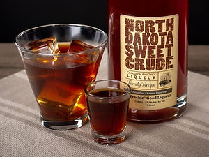 North Dakota Sweet Crude cocktail drink recipe, Black German