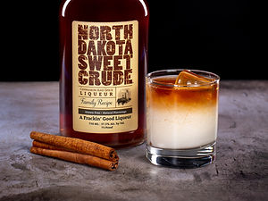 North Dakota Sweet Crude cocktail drink recipe, Dirty Snowflake