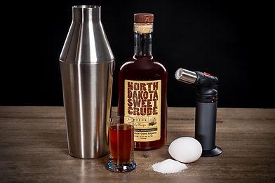 North Dakota Sweet Crude cocktail drink recipe, Ginger Zap Martini