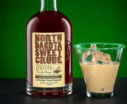 North Dakota Sweet Crude cocktail drink recipe, Crude Leprechaun