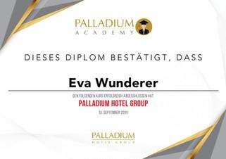 Palladium Hotel Group Diplom