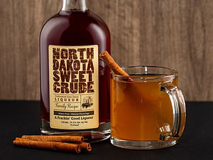 North Dakota Sweet Crude cocktail drink recipe, Dakota Hot Apple Pie