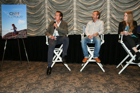 Actor/ producer, Thomas Hildreth film festival screening Q & A for Child of Grace