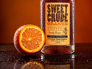 Sweet Crude Orange cocktail drink recipe, Orange Soda