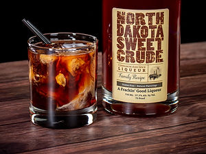 North Dakota Sweet Crude cocktail drink recipe, Dakota Bulldog