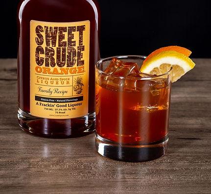 North Dakota Sweet Crude & Sweet Crude Orange cocktail drink recipe, Sheets to the Wind