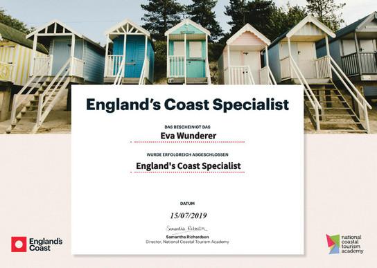Englands Küste Spezialist