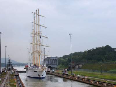 ROYAL CLIPPER STAR FLYER Panamakanal