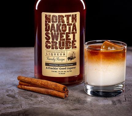 North Dakota Sweet Crude cocktail drink recipe, Dirty Snowflake