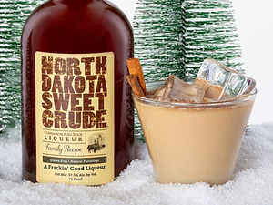 North Dakota Sweet Crude cocktail drink recipe, Crude Cow