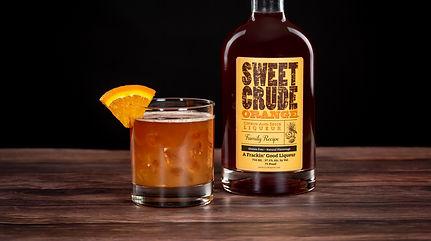 Sweet Crude Orange cocktail drink recipe, Orange Crush
