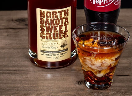 North Dakota Sweet Crude cocktail drink recipe, Dr. Crude