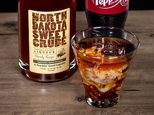 North Dakota Sweet Crude cocktail drink recipe, Dr. Crude