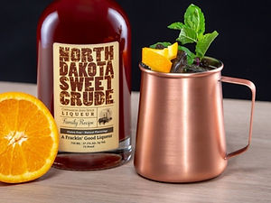 North Dakota Sweet Crude cocktail drink recipe, Dakota Mule