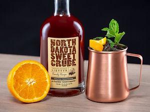 Cocktail drink recipe, Dakota Mule, with North Dakota Sweet Crude