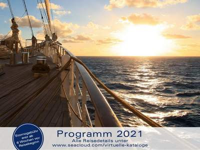 Sea Cloud Cruises Katalog 2021