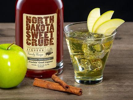 North Dakota Sweet Crude cocktail drink recipe, Sweet Apple Pie