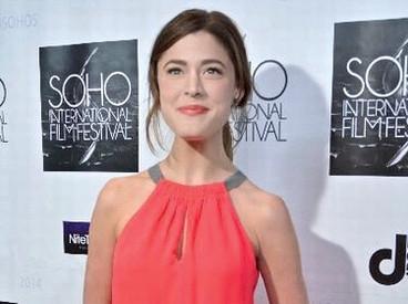 Nicole Vogt-Lowell walking the red carpet at the SOHO International Film Festival screening of B.I.I.D. (award-winning film with BETTER CALL SAUL's Mark Margolis)