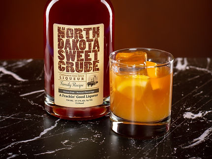North Dakota Sweet Crude cocktail drink recipe, Sheets to the Wind
