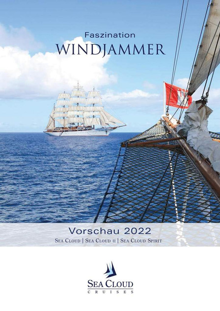 SEA CLOUD SPIRIT Vorschau 2022