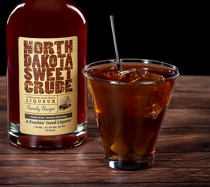 North Dakota Sweet Crude cocktail drink recipe, Roughrider