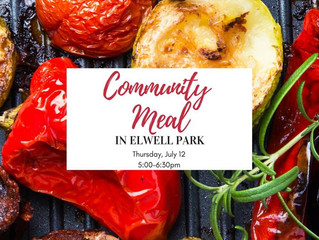 Community Meal in Elwell Park