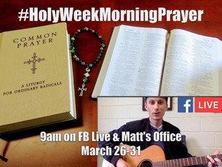 Holy Week Morning Prayer