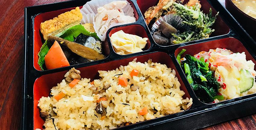 和来亭西郷館の料理