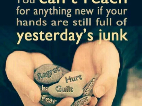 LET GO OF YOUR JUNK!