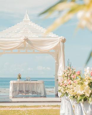 plaża ślub