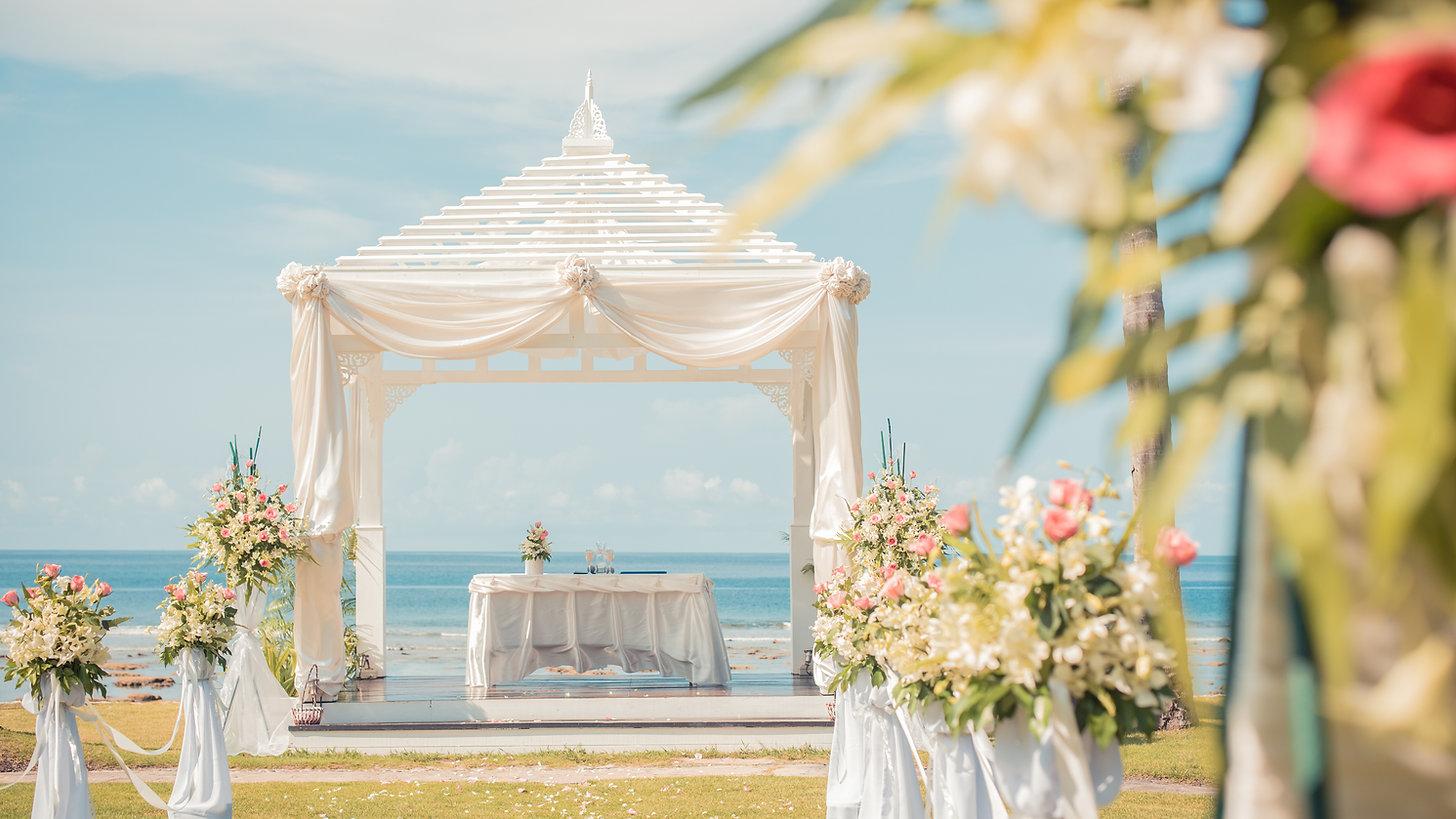 浜の結婚式