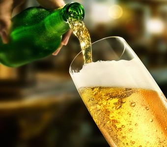 Golden Beer Detail