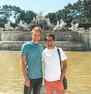 Schönbrunn Palace Fountain
