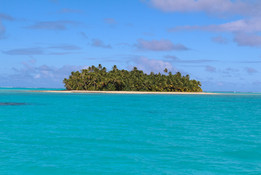 Aitutaki's Blue Lagoon