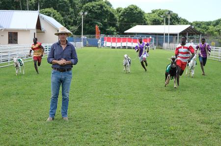 Phil Keoghan in Trinidad & Tobago