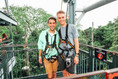 Mega Adventure Zip Line on Sentosa Islan