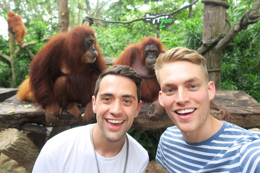 Breakfast with Orangutans at Singapore Z
