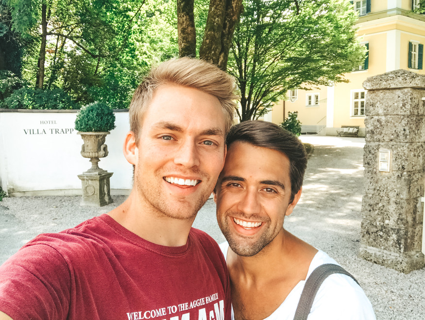 Will & James visit Villa Von Trapp