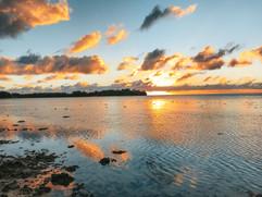 Sunrise in Rarotonga