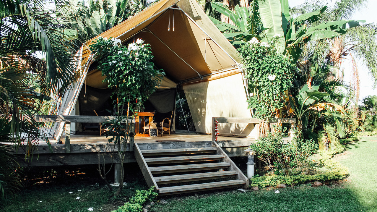 Ikurangi Eco Retreat Safari Tent