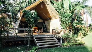 Ikurangi Eco Retreat Safari Tent