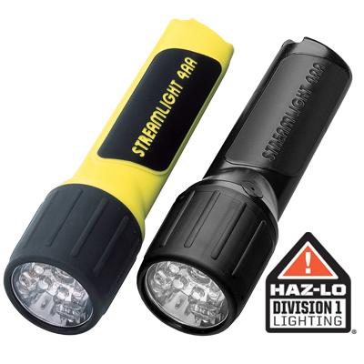 Streamlight Propolymer LED - 4AA alkaline batteries