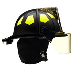 Bullard USTM Fiberglass Matte Finish Helmet w/ Brass Eagle