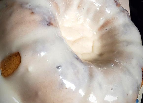 Sweet Potato Maple Bourbon Bundt Cake