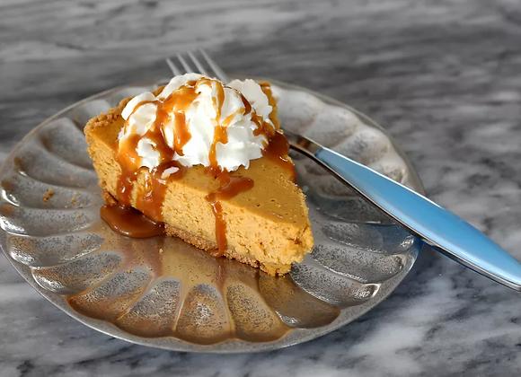 Non-Dairy Sweet Potato Cheesecake